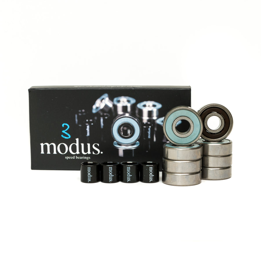 Modus Abec 3 Skateboard Bearings 8 Pack - Pretend Supply Co