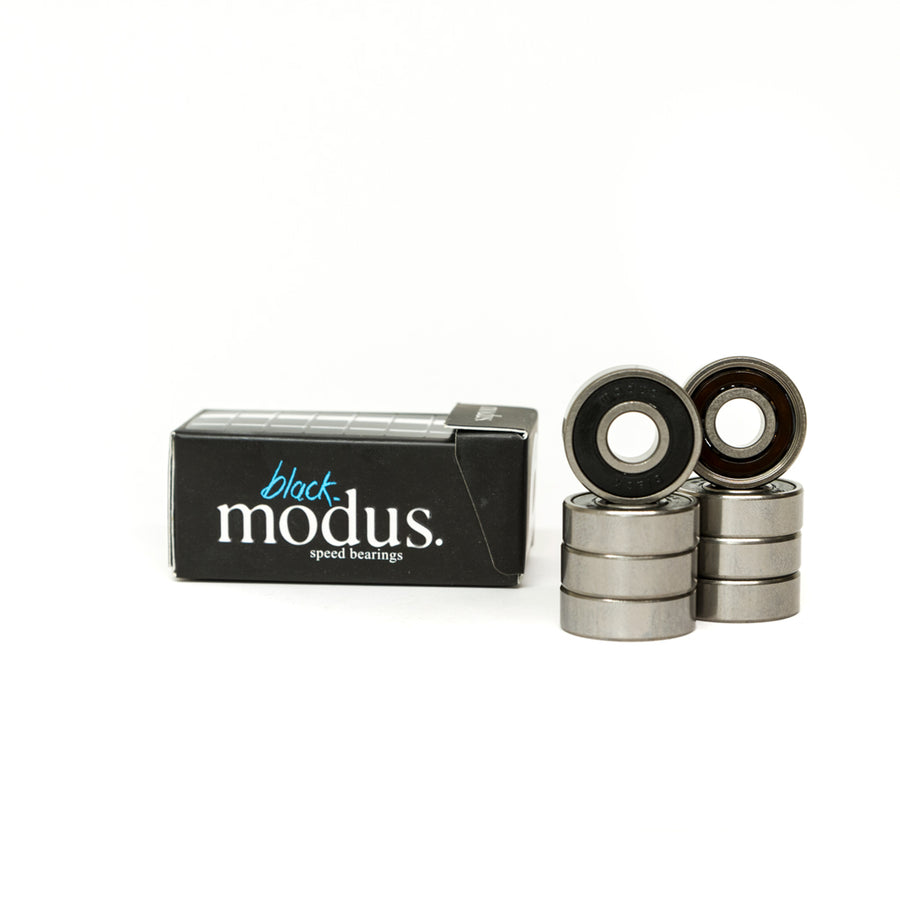 Modus Black Skateboard Bearings 8 Pack - Pretend Supply Co