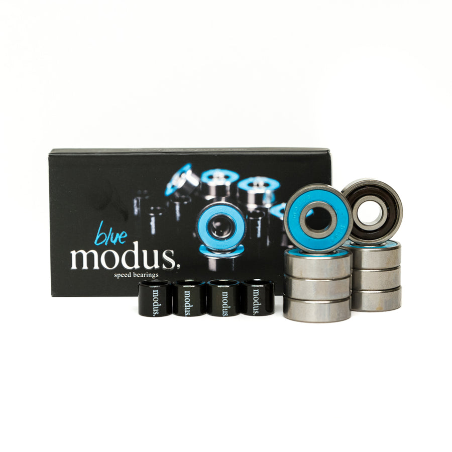 Modus Blue Skateboard Bearings 8 Pack - Pretend Supply Co