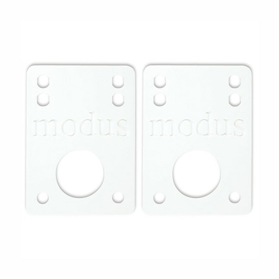 "Modus 1/8"" White Riser Pads - Pretend Supply Co"