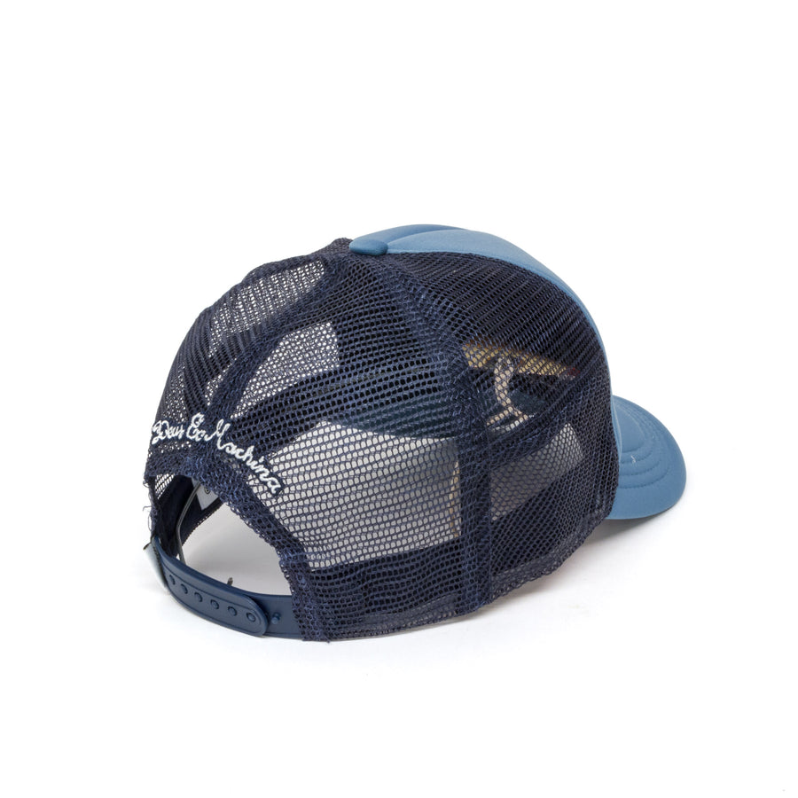 Deus Ex Machina Moretown Trucker Cap - Dark Blue Front