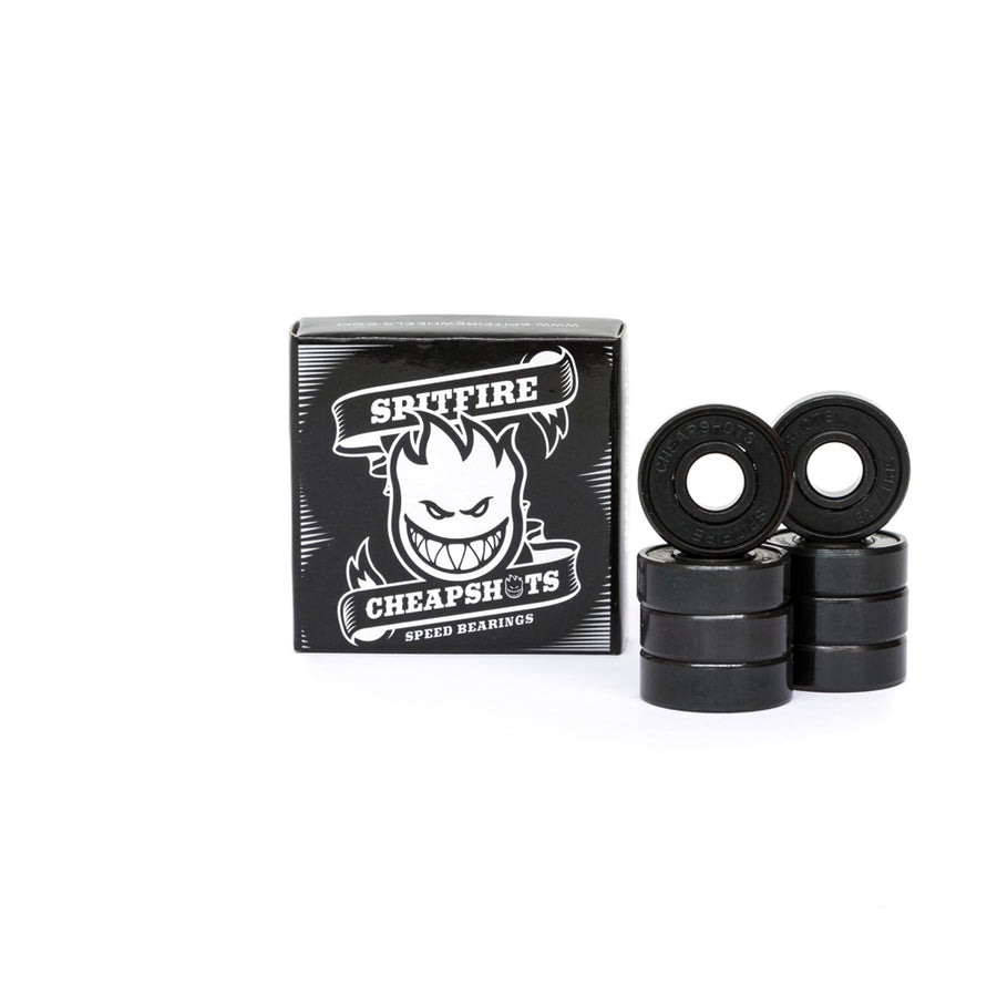 Spitfire Cheapshots Skateboard Bearings 8 Pack - Pretend Supply Co