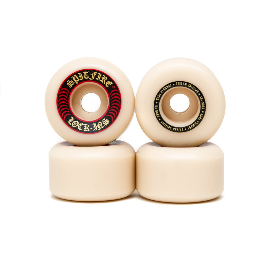Spitfire Formula Four Lock Ins 101DU Wheels - 53mm - Pretend Supply Co
