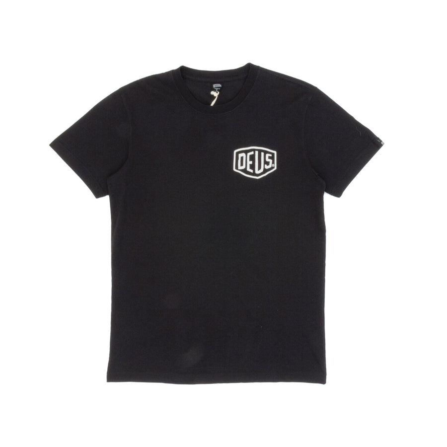 Deus Ex Machina Camperdown Address T-Shirt - Black back
