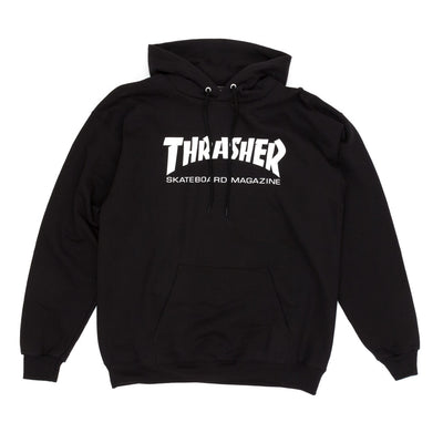Thrasher Skate Mag Logo Hooded Sweatshirt - Black - Pretend Supply Co