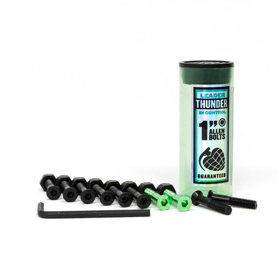 "Thunder 1"" Allen Fixings - Black/Green - Pretend Supply Co"