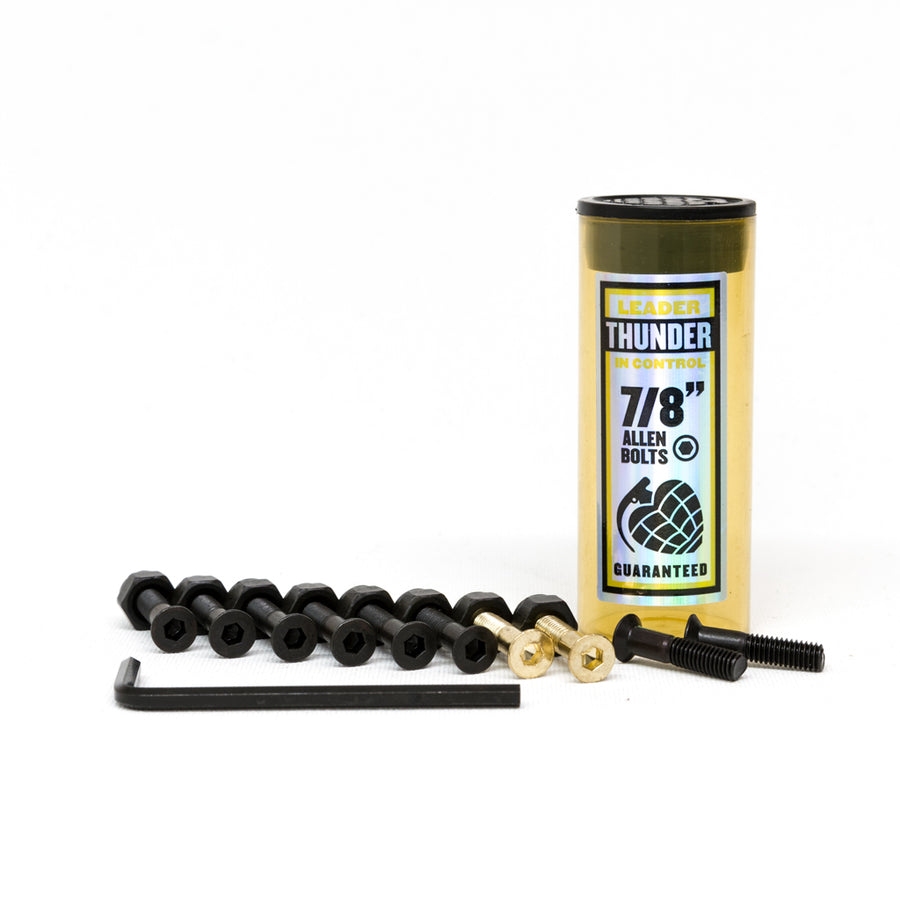 "Thunder 7/8"" Allen Fixings - Black/Gold - Pretend Supply Co"