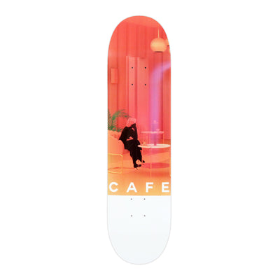 Skateboard Cafe Unexpected Beauty Pink Deck - 8.25""