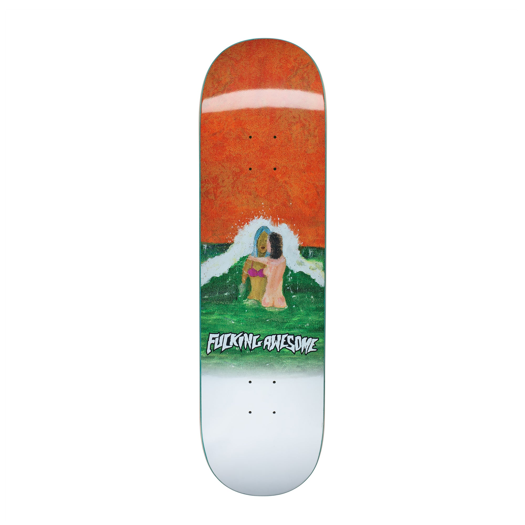 Fucking Awesome Wave Painting Deck - 8.25""
