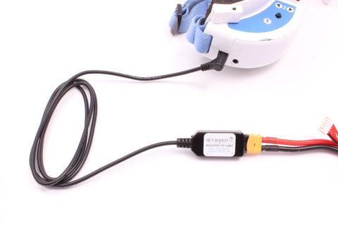 Fat Cable - Voltage Regulated Cable for FPV Goggles - XT60 (v2)