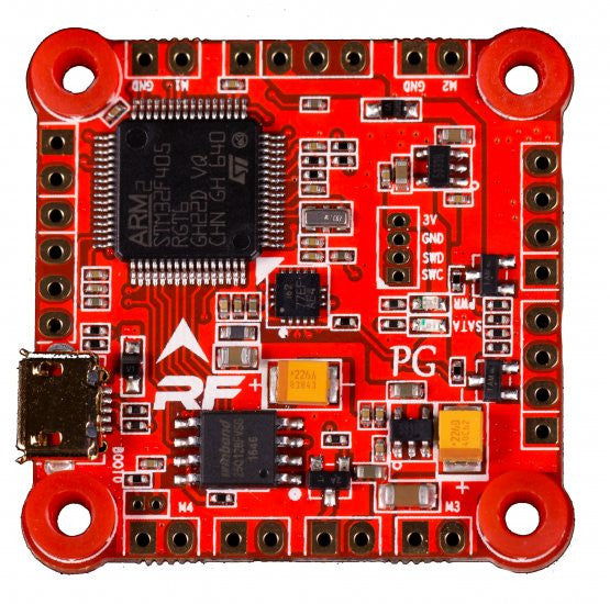 RaceFlight Revolt F4 Flight Controller - V2 with bobbins!