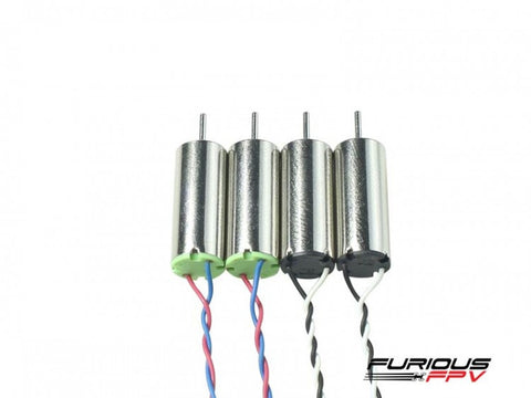 FuriousFPV Supersonic 6x15mm 19000KV Brushed Motors (2CW & 2CCW) For Inductrix