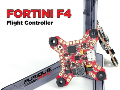 Furious FPV Fortini F4 32Khz 16MB Black Box Flight Controller