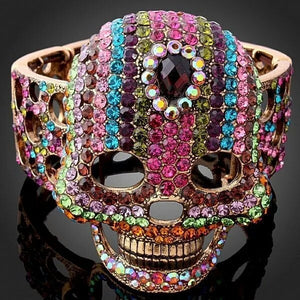 Multi Colored Skull Bracelet  3-5 DAYS SHIPPING