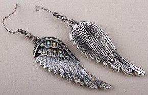 Angel Wing Dangle Earrings