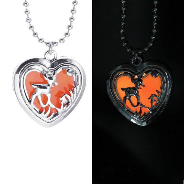 Glowing Double Sided Deer Pendant  3-5 DAYS SHIPPING