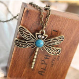 Dragonfly hollow-out necklace Pendant Chain Choker Bib Statement Necklace  3-5 DAYS SHIPPING