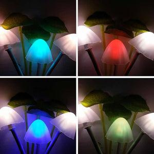 Color Changing LED Mushroom Night Light 3-5 DAYS SHIPPING