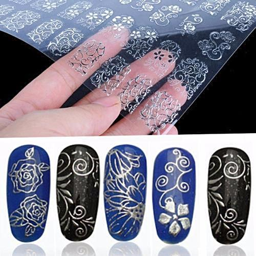 108Pcs 3D Flower Nail Art Stickers Decals Stamping DIY Decoration Tools 3-5 DAYS SHIPPING