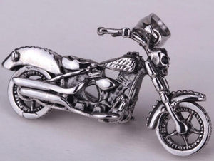 Stainless Steel Bike Pendant/ Necklace