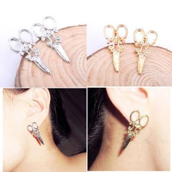 Scissor Stud Style Earrings  3-5 DAYS SHIPPING
