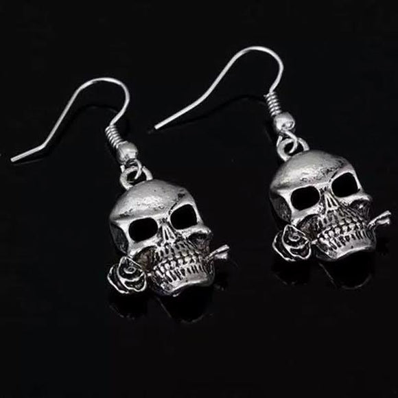 Skull Dangle Earrings  3-5 DAYS SHIPPING