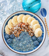 Blue Butterfly Smoothie Bowl from Bekah