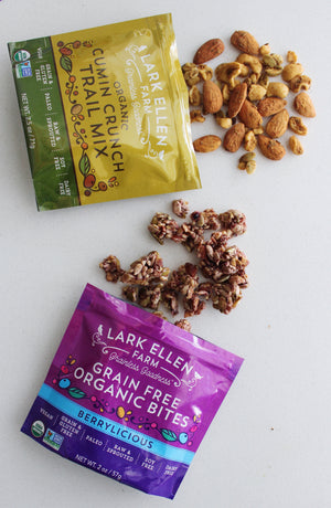 FREE + SHIPPING - 4 Snack Packs - Grain Free Bites & Trail Mix