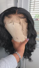 Load and play video in Gallery viewer, Virgin Peruvian swiss Lace Frontal