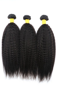 Kinky Straight Frontal Bundle Deal