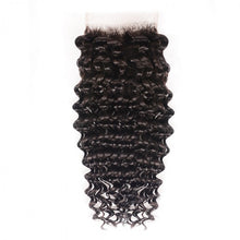 Load image into Gallery viewer, Virgin Peruvian Deep wave swiss Lace Closure