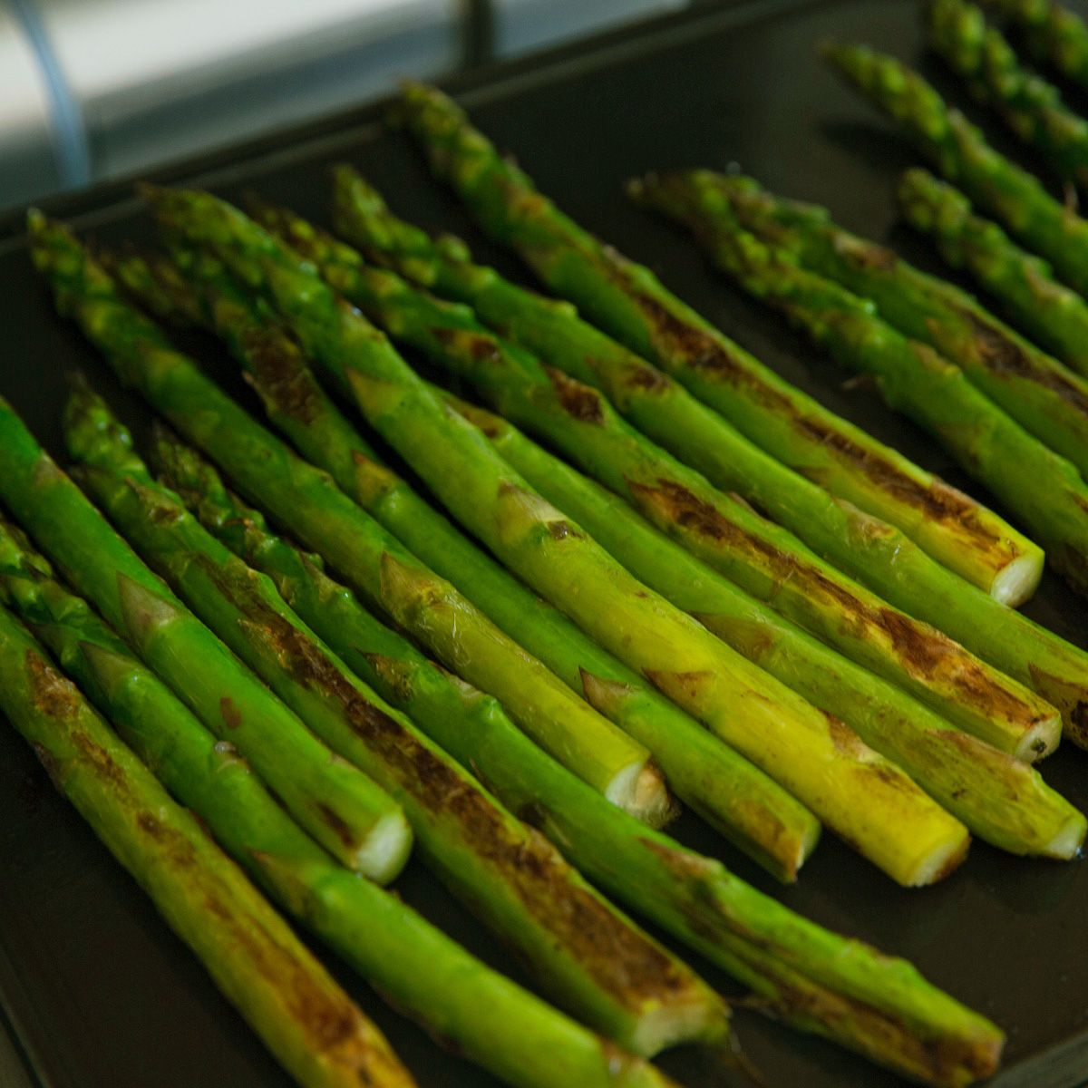 Perfect Grilled Asparagus Recipe Cinder Grill Sous Vide