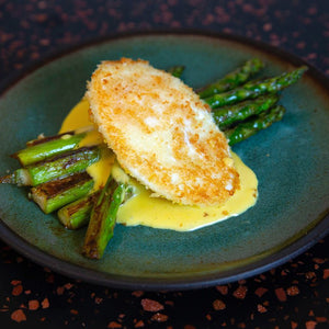 Crispy Fried Egg recipe on Cinder grill