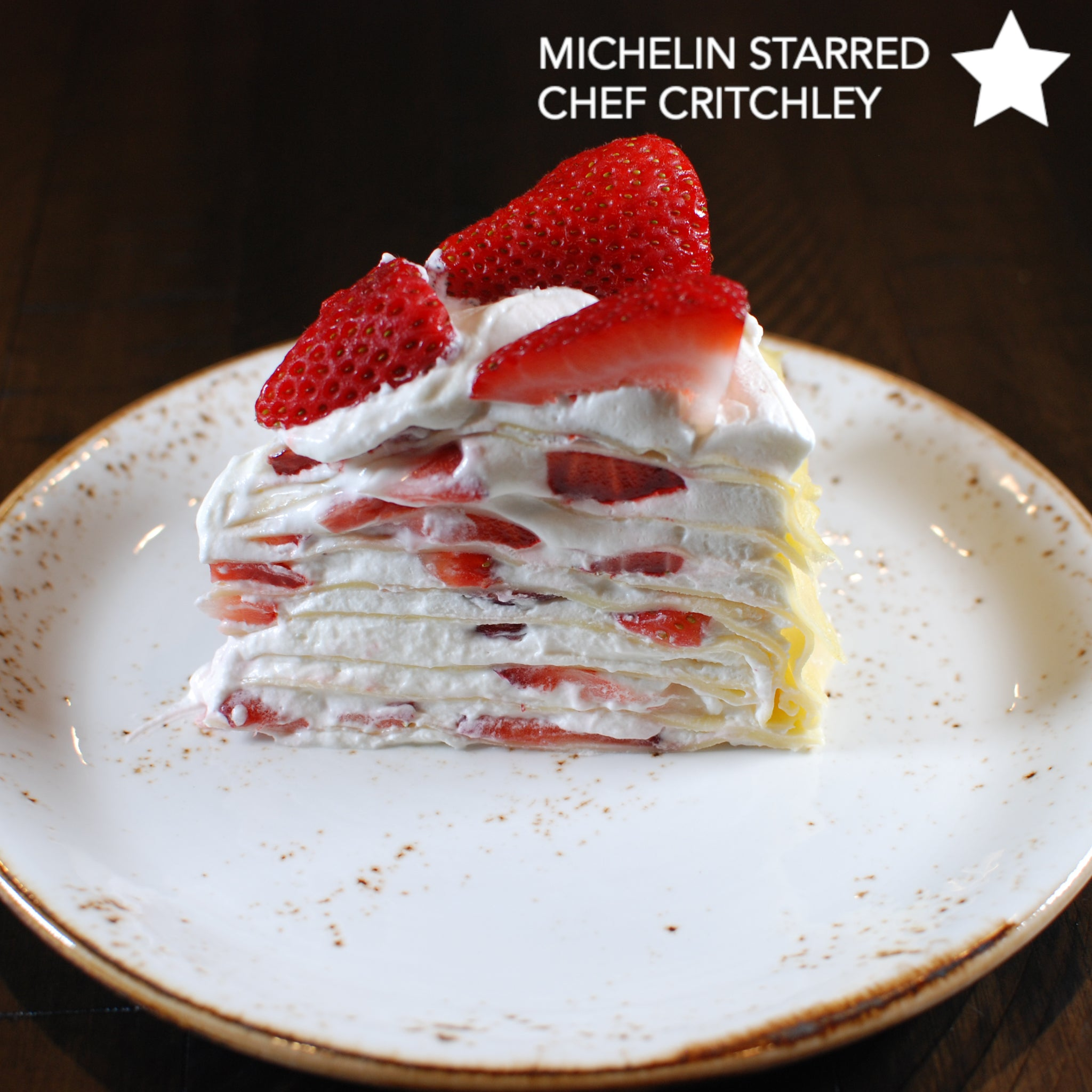 Cinder Grill Recipe Strawberry Crepe Cake