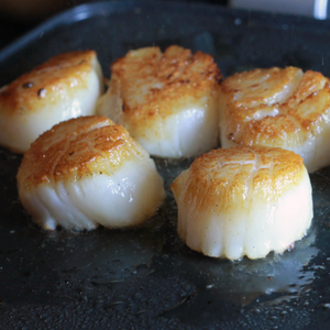 Cinder Grill Perfect Scallops sous vide scallops
