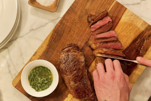 How To Perfectly Cut Steak