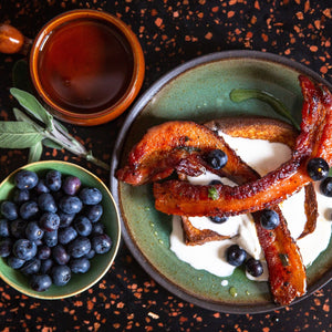 Cinder French Toast Maple Syrup Bacon Recipe Cinder Grill