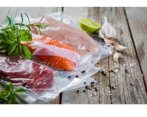 sous vide bag of salmon, cinder grill, sous vide, sous vide cooking, sous vide machine, sous vide cooker, vacuum sealer, sous vide vacuum, cinder grill, desora cooks, best sous vide, immersion circulator, precision temperature cooking