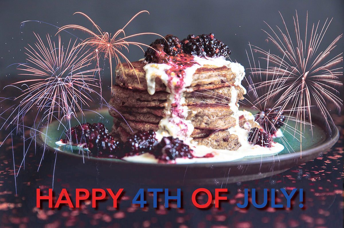 Cinder Grill 4th of July Best Grilling Recipes Pancakes