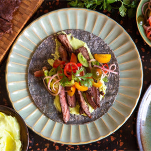 Cinder Grill Skirt Steak Taco Avocado Recipe