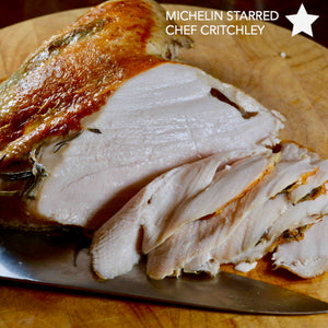 Dry Brined Turkey Breast recipe cooked on world's first sous vide precision indoor grill cinder grill