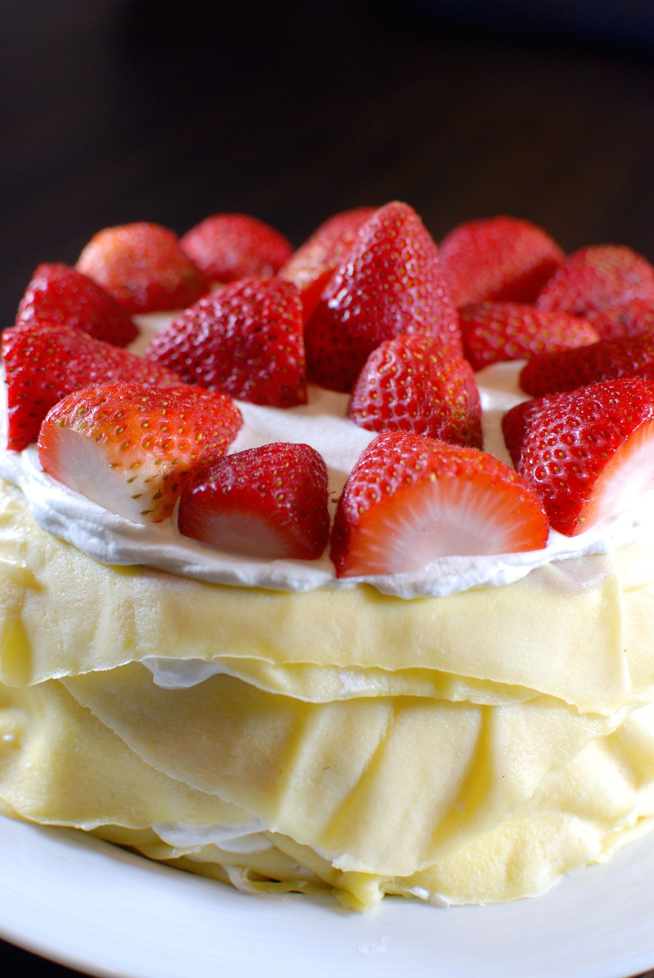 Cinder Grill Recipe Strawberry Crepe Cake Chef John Critchley Indoor Grill