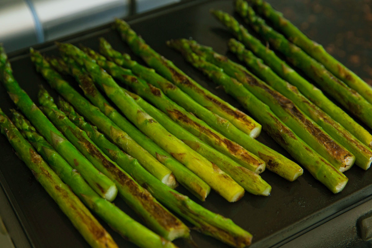 Cinder Grill Grilled Asparagus Recipe Sous Vide Asparagus Recipe