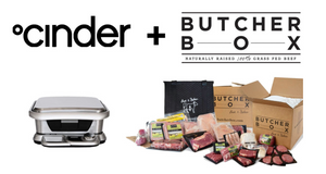 Cinder Grill Butcher Box Promo Code