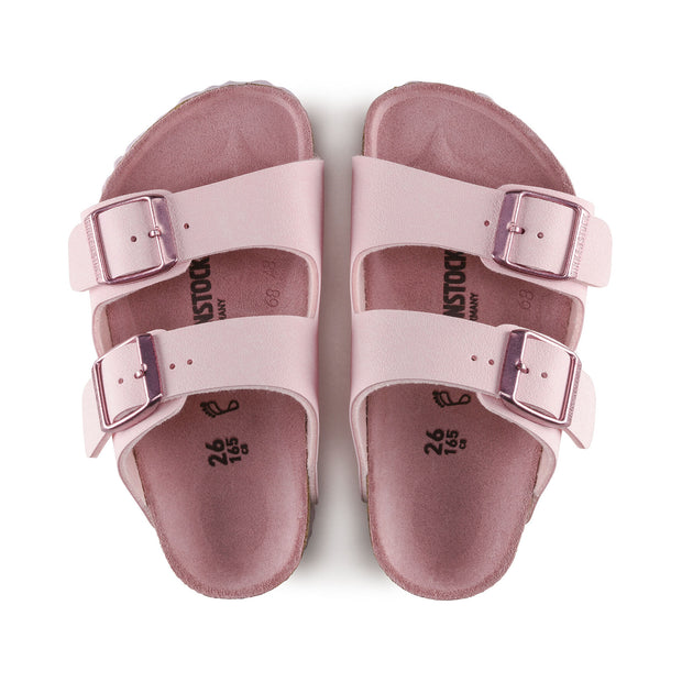 BIRKENSTOCK Arizona Kids Nubuck Rose