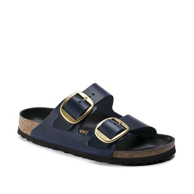 Arizona Big Buckle Oiled Leather Sandal