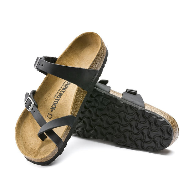 BIRKENSTOCK Mayari Black Oiled Leather