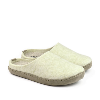 Dr.Feet Orthotic-Friendly Slipper Elena#color_bamboo