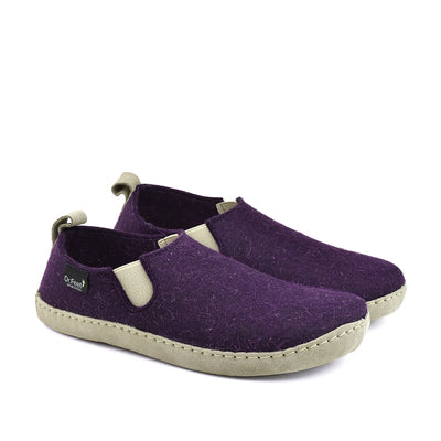 DR.FEET Orthotic-Friendly Slipper Harper#color_purple