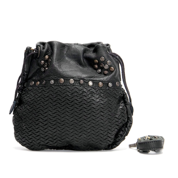KOMPANERO Paris Black Crossbody Bag